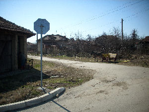 Varbovka Entry Road To House