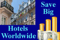 Bigtime Savings on Hotels Worldwide